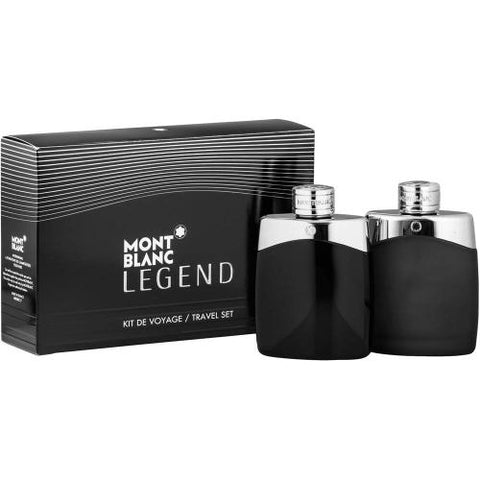 MONT BLANC LEGEND M 2PCSET 3.4 EDT SPRAY / 3.4 ASSPRAY *PICTURE BOX* (FREE SHIPPING)