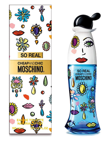 WOMEN SO REL CHEAPANDCHIC MOSCHINO 3.4 OZ EDT SPRY (Free Shipping)