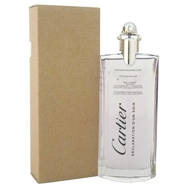 TESTER M DECLARATION D'UN SOIR CARTIER 3.3 OZ EDT SPRY