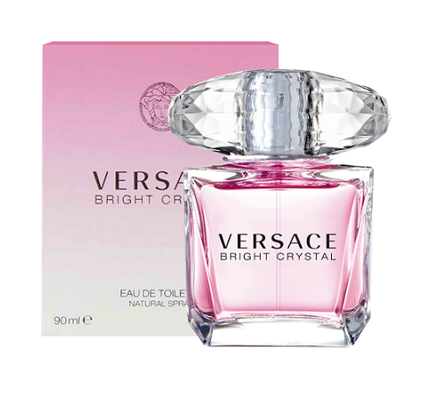 W VERSACE BRIGHT CRYSTAL 3 OZ (100 ML)
