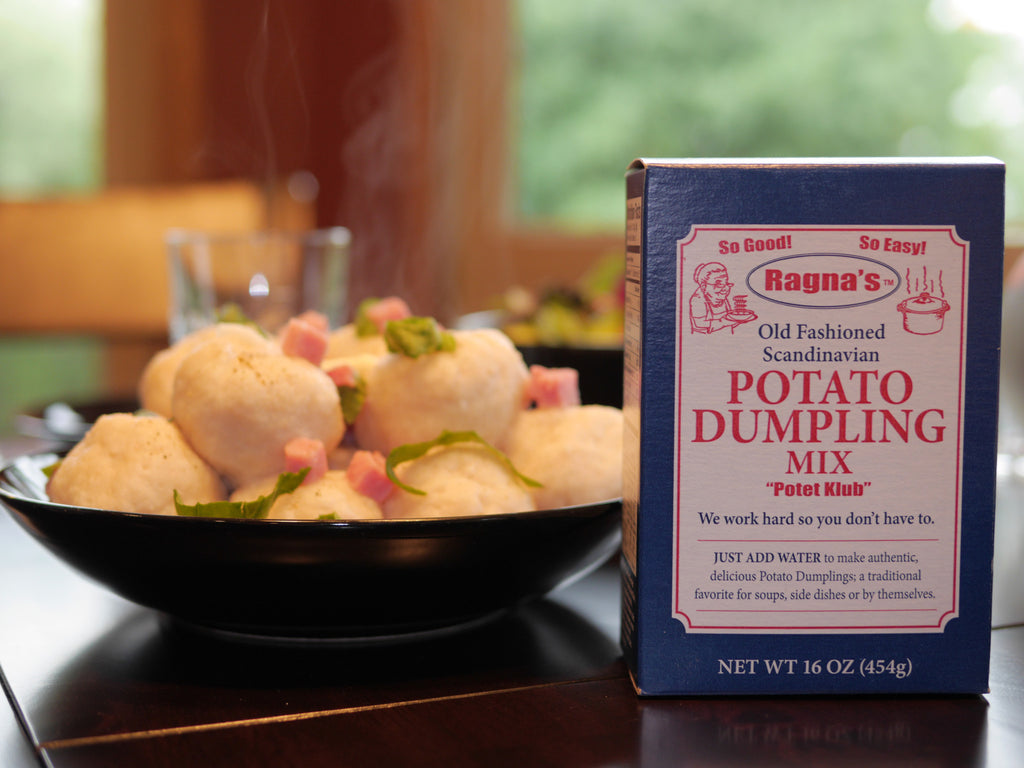 POTATO DUMPLING MIX (Shipped in Case Quantities of 2 Pkgs / 5 Pkgs / 15 Pkgs )