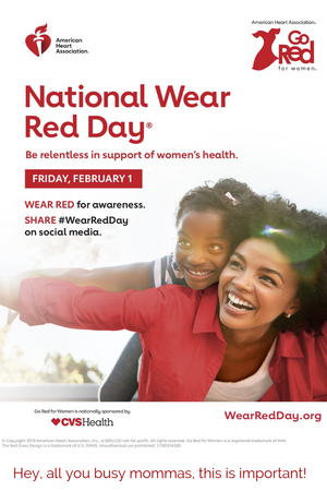 Lifestyle | National Wear Red Day