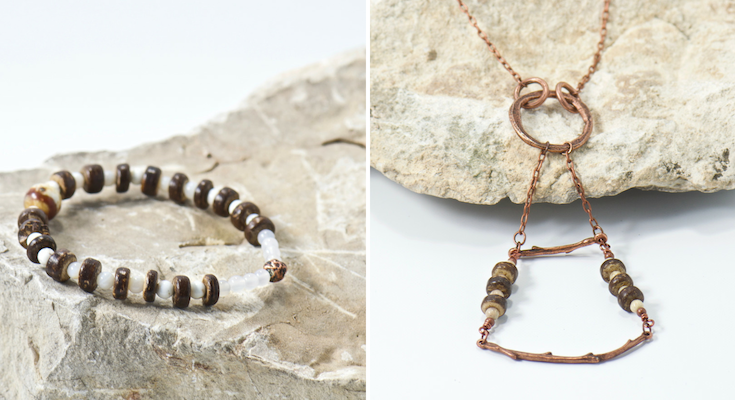 gypsum hills jewelry collection | bohemian jewelry for the free spirited momma