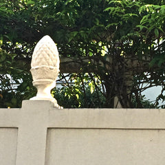 Pineapple Urn in Garden District New Orleans