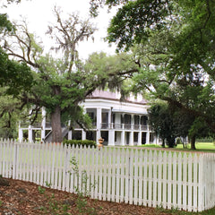 Side view of Madewood Plantation