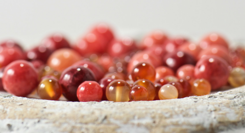 carnelian gemstones | bohemian jewelry for the free spirited momma