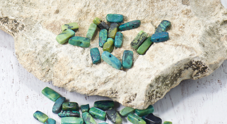 chalcedony chrysoprase gemstones | bohemian jewelry for the free spirited momma