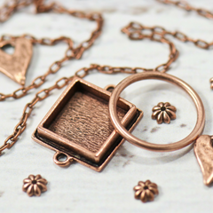 copper metals for bohemian style jewelry