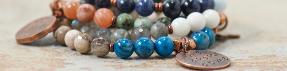 best selling gemstone jewelry for the boho free spirited momma