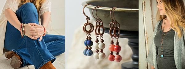 Livvie + Hazel | bohemian jewelry for the free spirited momma