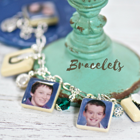 personalized photo charm bracelet - gifts for mom