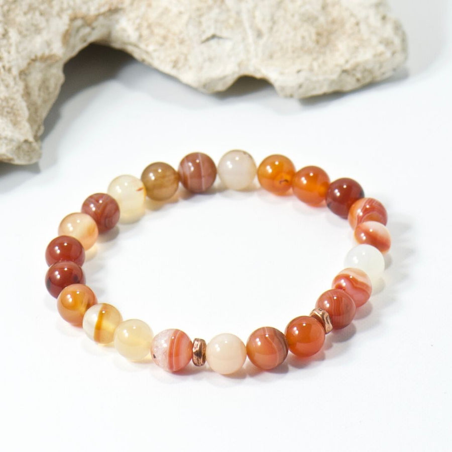 Simple Intentions Healing | Botswana Agate Bracelet
