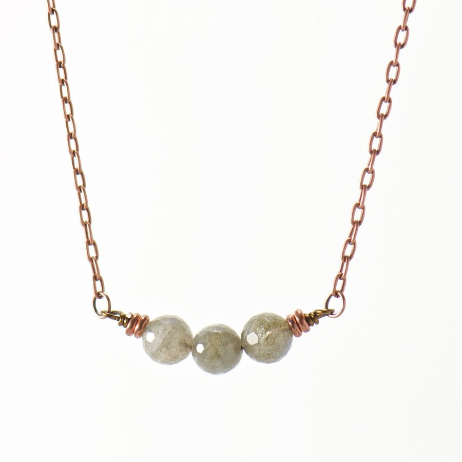 Simple Intentions Intuitive | Labradorite Gemstone Necklace