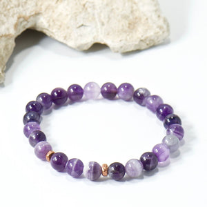 Simple Intentions Protective | Amethyst Bracelet