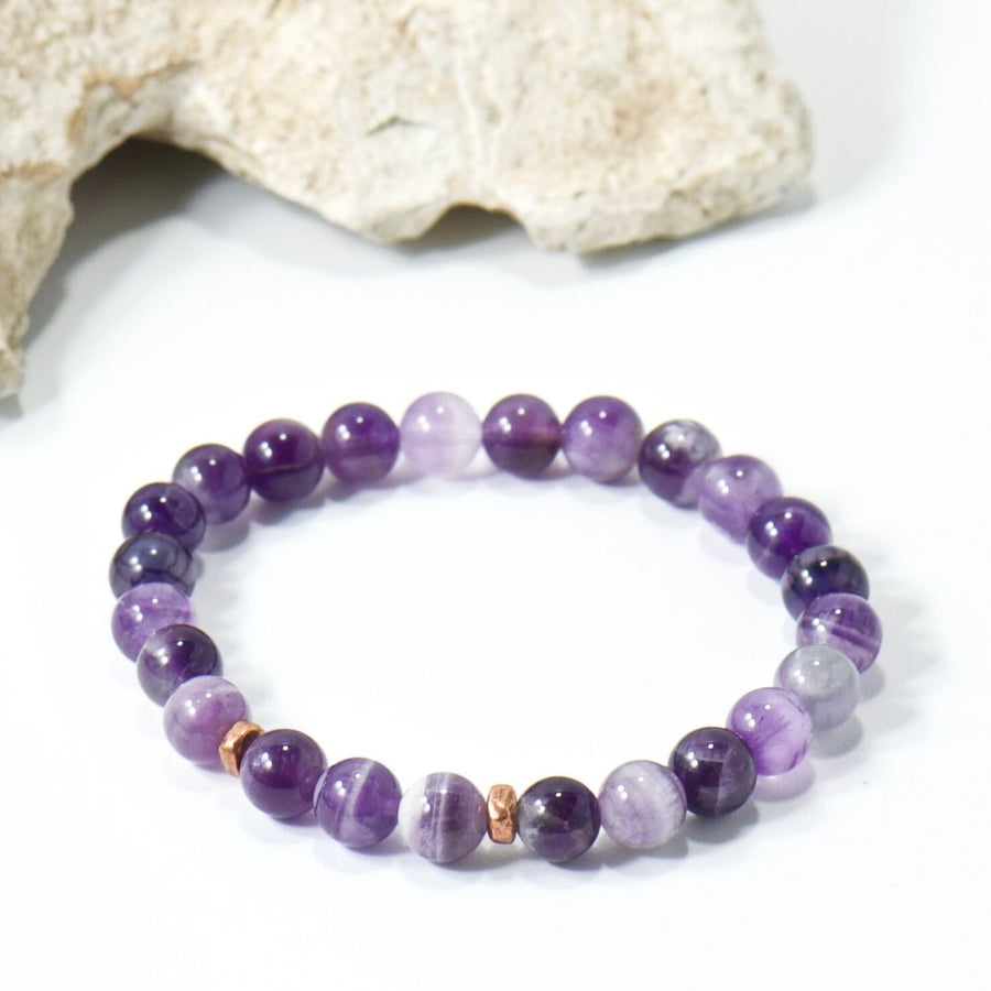 Simple Intentions Protective | Amethyst Gemstone Bracelet