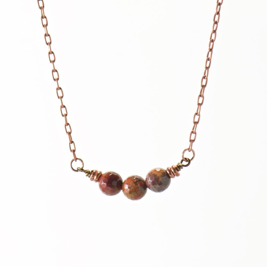 Simple Intentions Strength | Agua Nueva Gemstone Necklace