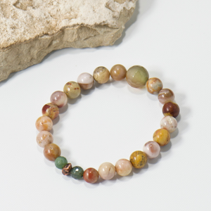 Nugget Mother Earth Gemstone Bracelet - Bohemian Style