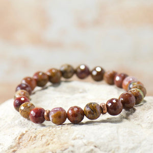 Simple Intentions Strength | Agua Nueva Agate Bracelet