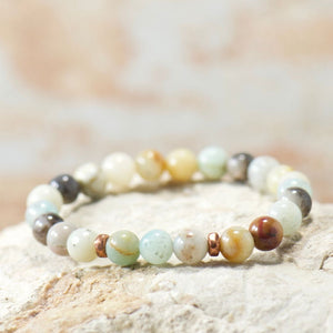 Simple Intentions Soothing | Amazonite Bracelet