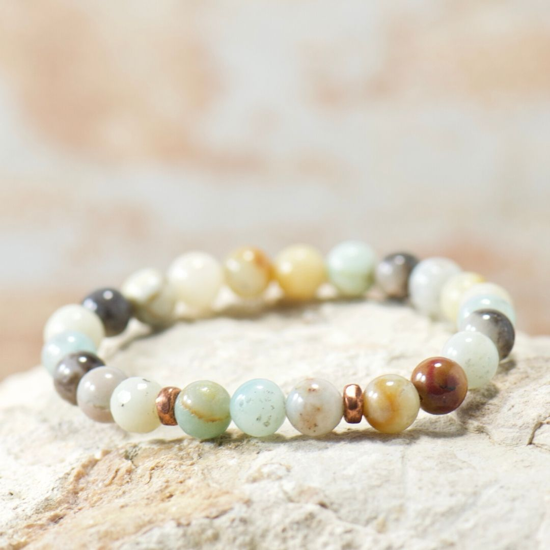 Simple Intentions Soothing | Amazonite Gemstone Bracelet