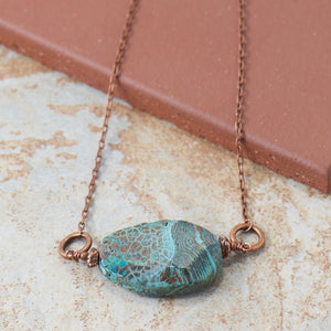 Big Basin Lagoon Gem Necklace