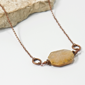 Big Basin Landscape Gemstone Necklace - Bohemian Chic Jewelry