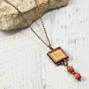 Willow Carnelian Necklace