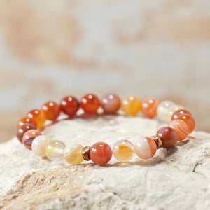 Simple Intentions Healing | Botswana Agate Gemstone Bracelet