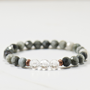 Quartz Crystal | Eagle Eye Bracelet