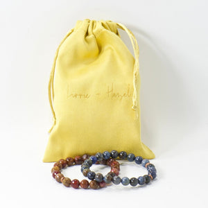 Big Basin Yellow Agate Gem Necklace
