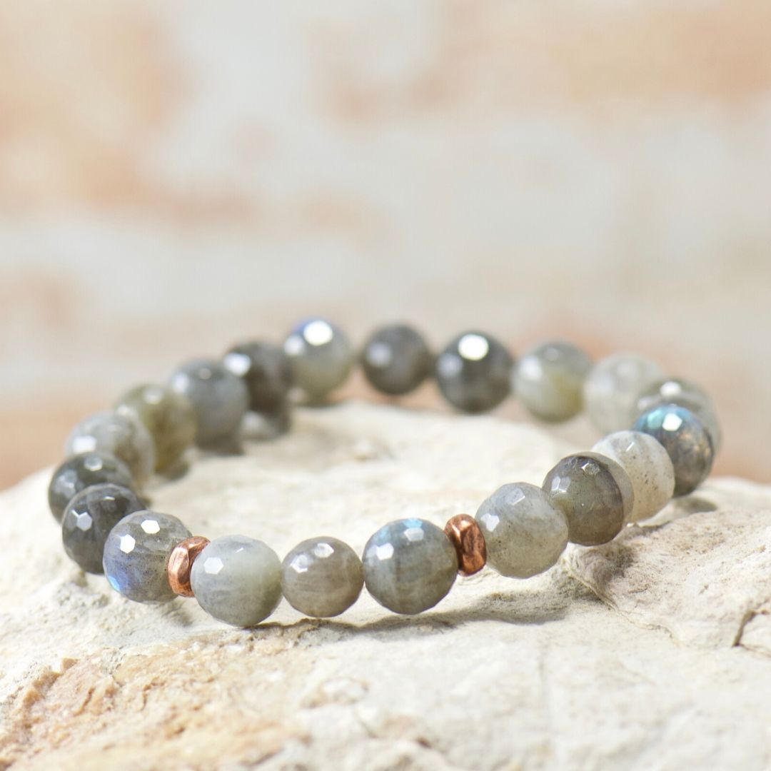 Simple Intentions Intuitive | Labradorite Gemstone Bracelet
