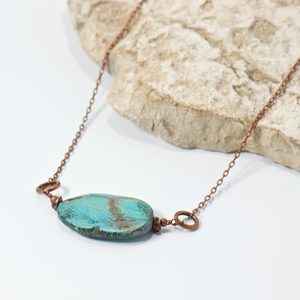 Big Basin Gemstone Necklace - Bohemian Chic Style Jewelry