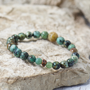 Nugget African Turquoise Bracelet