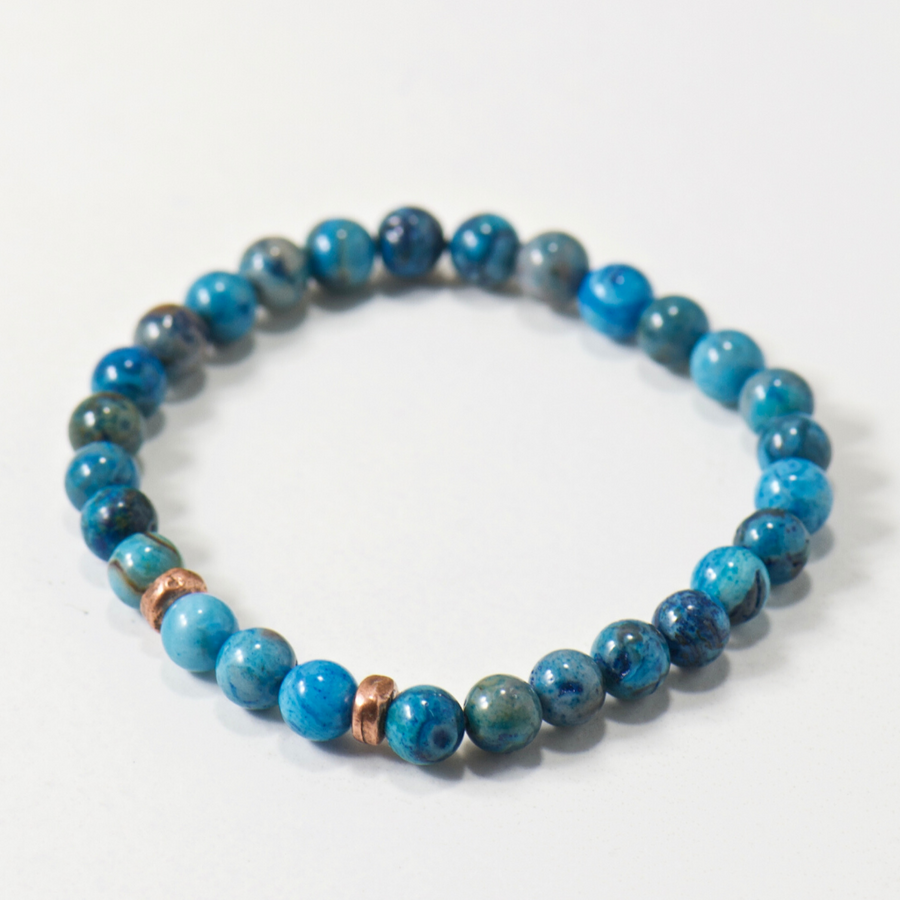 Mini Calming | Blue Agate Bracelet