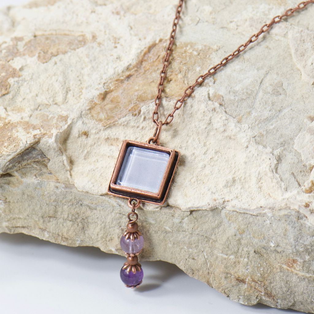 Willow Light Purple Amethyst Necklace