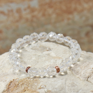 Simple Intentions Clarity | Clear Quartz Bracelet