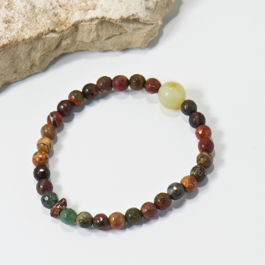 Nugget Red Cedar Bracelet