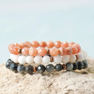Simple Intentions Protector | Eagle Eye Quartz Bracelet