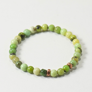 Mini Cheerleader | Olivine Gemstone Bracelet