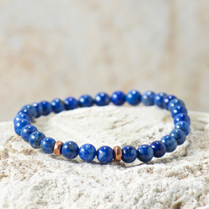 Mini Wise | Denim Lapis Bracelet