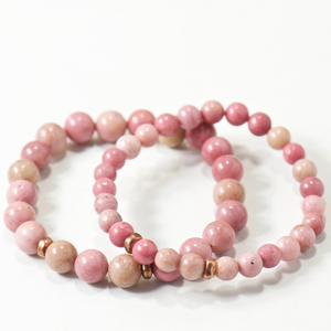 Mini Balancer | Rhodonite Bracelet