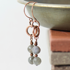 Tabitha Labradorite Earrings
