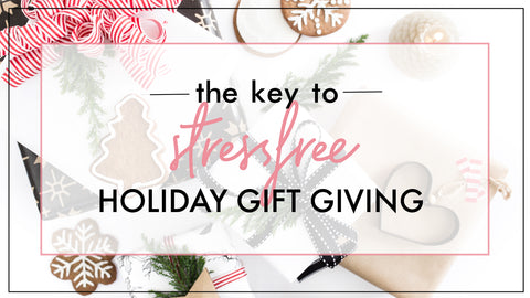 gift guide stressfree