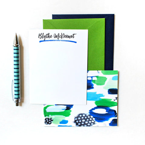 custom notepad, colors,