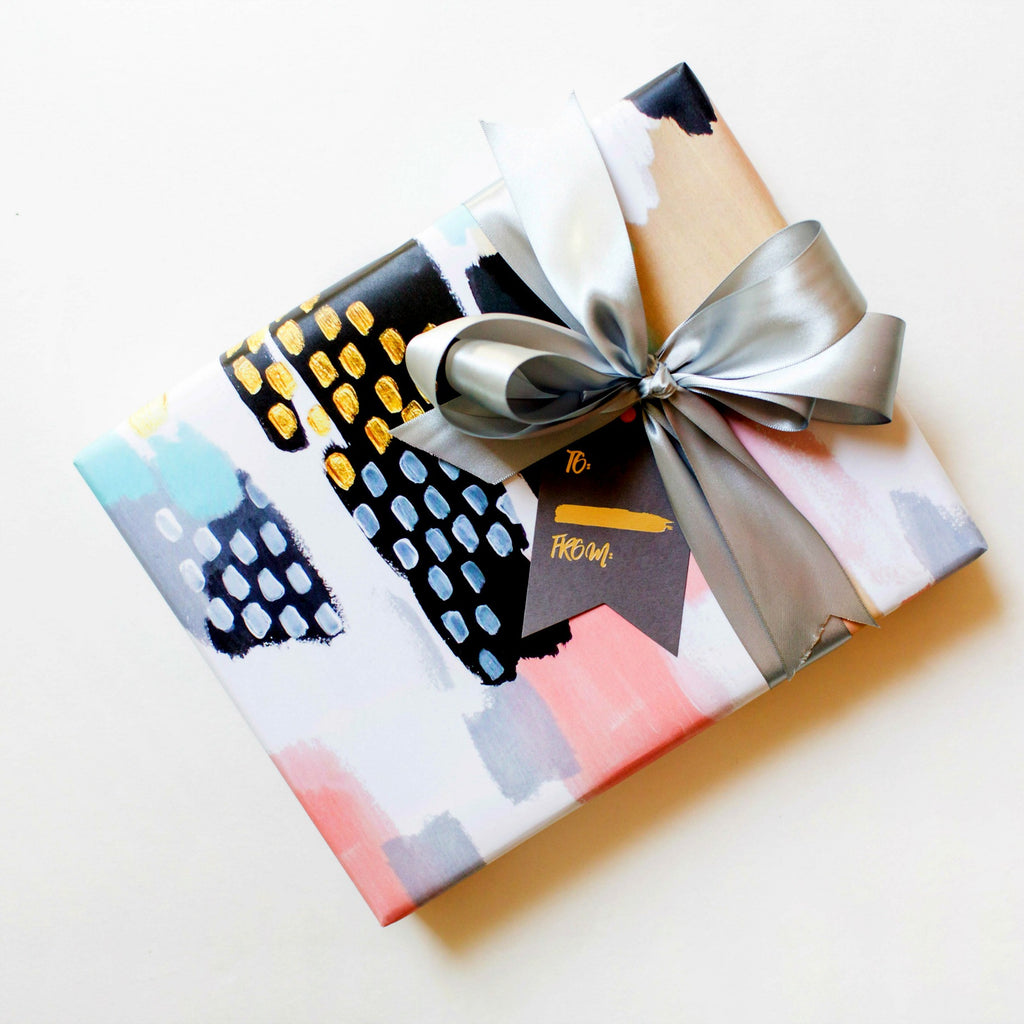 thoughtfilled, gift wrap