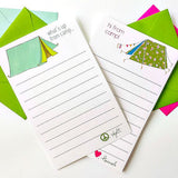 Camping Notepads