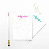 Confetti Personalized Notepad