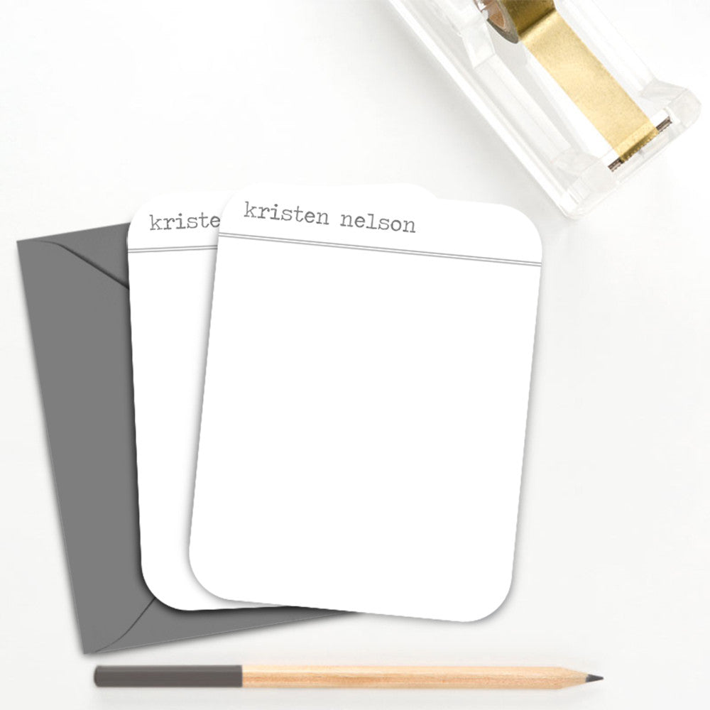 Simple Personalized Note Card