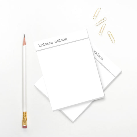 Simple Personalized Notepad