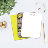 Modern Personalized Note Card
